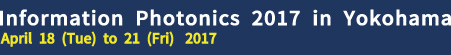 Information Photonics 2017 (IP'17)